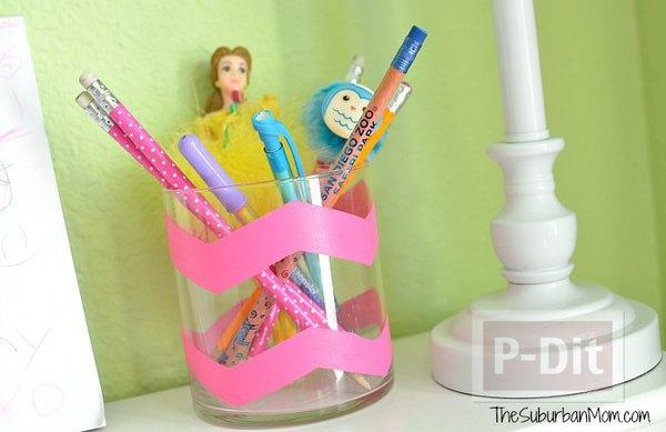 รูป 7 ทำที่ใส่ดินสอ ปากกา ลายสวย