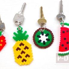 พวงกุญแจสวยๆ ลายผลไม้