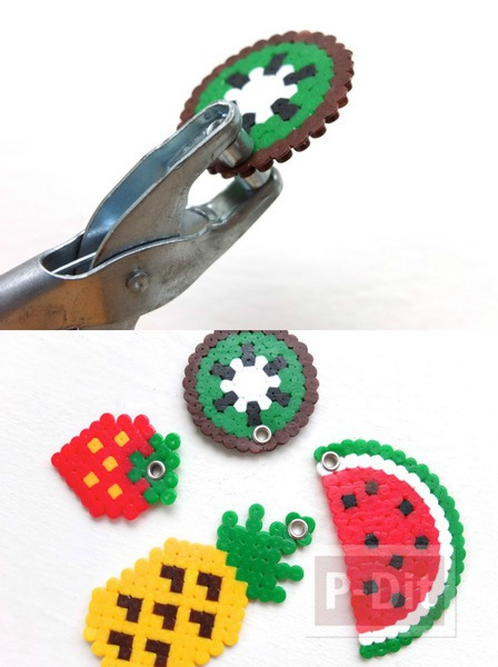 รูป 2 พวงกุญแจสวยๆ ลายผลไม้