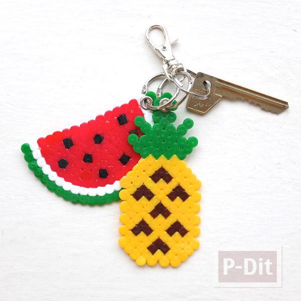 รูป 7 พวงกุญแจสวยๆ ลายผลไม้