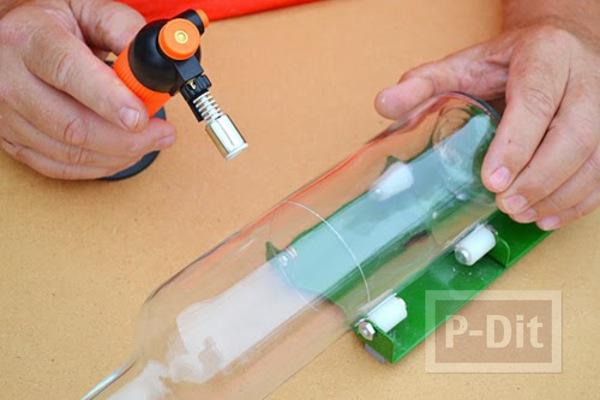 รูป 3 สอนทำโคมไฟแก้ว ประดับก้อนกรวดแก้ว สีสวย