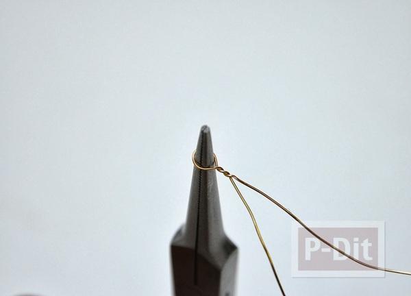 รูป 5 แหวนสวยๆ ทำจากลวดและลูกปัด