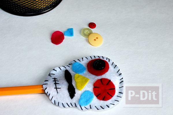 รูป 2 ปลอกหุ้มดินสอ ลายฮาโลวีน
