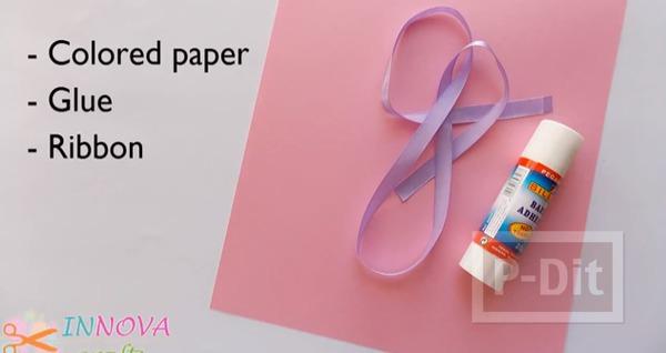 รูป 2 ถุงกระดาษใส่ของขวัญ พับเองแบบง่ายๆ