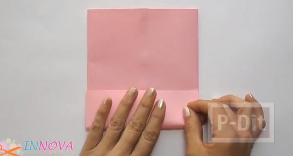 รูป 3 ถุงกระดาษใส่ของขวัญ พับเองแบบง่ายๆ