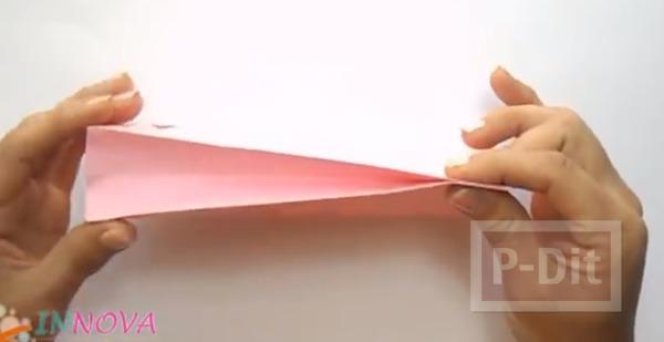 รูป 5 ถุงกระดาษใส่ของขวัญ พับเองแบบง่ายๆ
