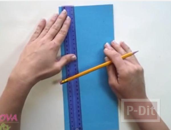 รูป 6 สอนพับธนบัตร เป็นรูปผีเสื้อ ติดการ์ด