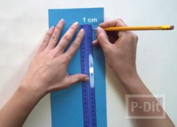 รูป 7 สอนพับธนบัตร เป็นรูปผีเสื้อ ติดการ์ด