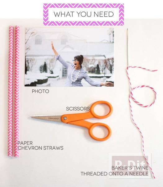 รูป 3 กรอบรูปสวยๆ ทำจากกระดาษสีสวย