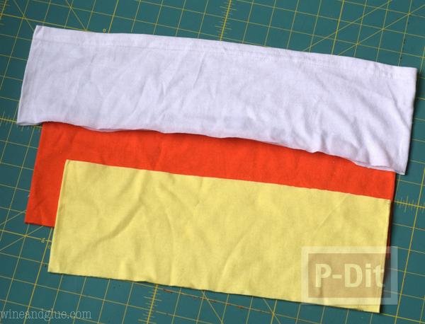 รูป 4 เย็บถุงผ้า จากเสื้อยืดตัวเก่า