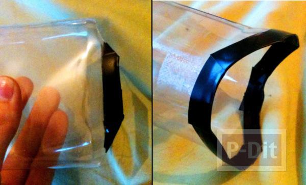รูป 6 ของเล่นแฮมสเตอร์ ทำจากขวดน้ำพลาสติก