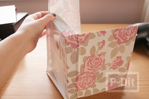 รูป 6 กล่องช็อคโกแลต นำมาห่อกระดาษ เก็บของ
