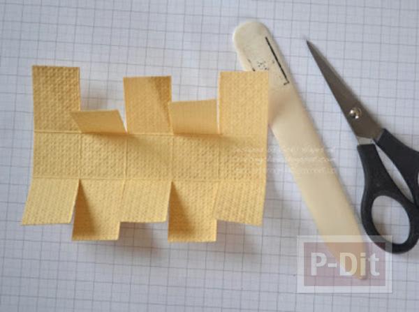 รูป 6 ตะกร้าถุงกระดาษ ทำเอง แบบง่ายๆ