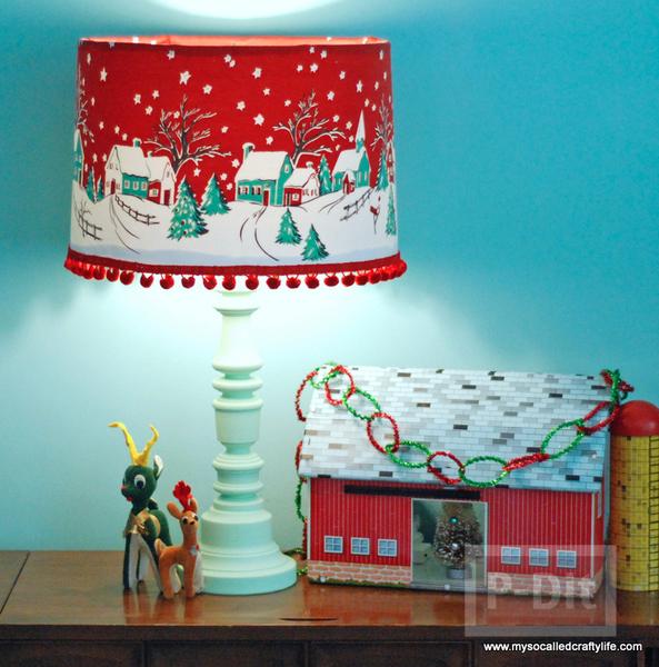 โคมไฟสวยๆ ตกแต่งต้อนรับ วันคริสต์มาส