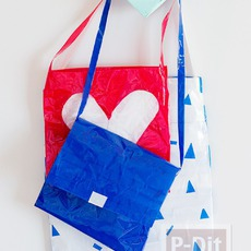 กระเป๋าน่ารักๆ ทำจากสก็อตเทปสีสวย