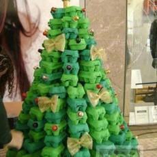 ไอเดียทำต้นคริสต์มาส จากรังไข่