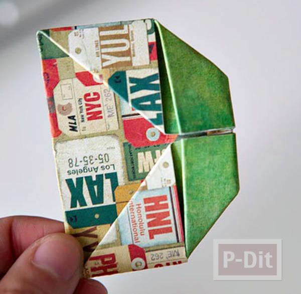 รูป 6 การ์ดวันพ่อ ป็อบอัพ พับกระดาษ