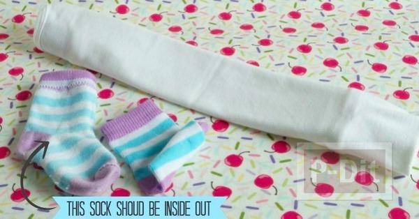 รูป 5 ทำของขวัญให้เด็กทารก พับชุดใส่ถ้วยคัพเค้พ น่ารักๆ