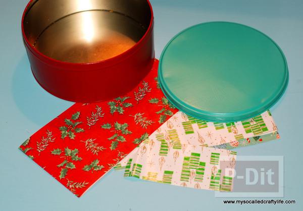 รูป 3 ตกแต่งกล่องของขวัญสวยๆ ห่อกระดาษสีสด