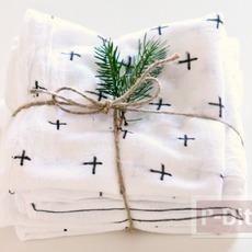 ผ้าเช็ดมือตกแต่งลายสวยๆ เทศกาลคริสต์มาส