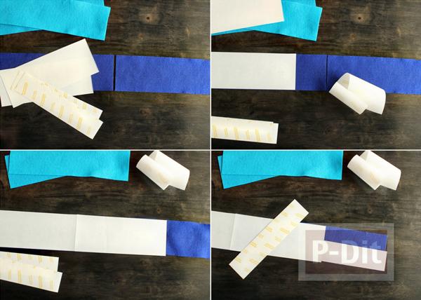 รูป 3 มงกุฎผ้า ทำเอง สีสดใส
