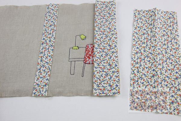 รูป 7 ห่อปกสมุดโน๊ต ประดับลายน่ารักๆ จากผ้า