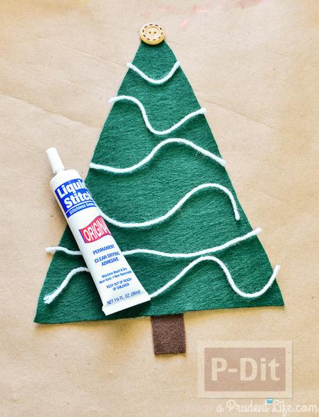 รูป 2 ตกแต่งหมอนอิง ต้นคริสต์มาส สีเขียว