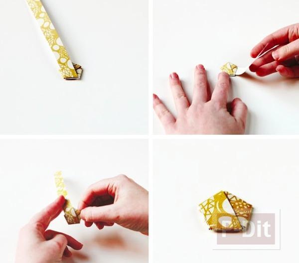 รูป 6 ต้นคริสต์มาส ทำจากกระดาษ พับเองน่ารักๆ
