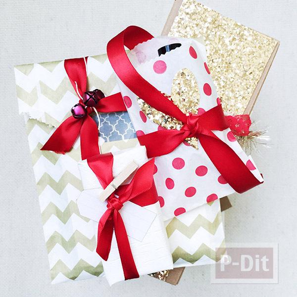 รูป 5 ไอเดียห่อของขวัญ แบบง่ายๆ