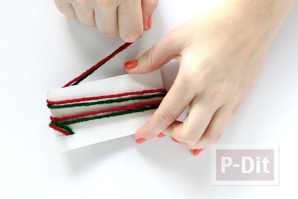รูป 3 กล่องของขวัญ ห่อสวย ด้วยไหมพรมสีสด