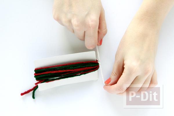 รูป 4 กล่องของขวัญ ห่อสวย ด้วยไหมพรมสีสด
