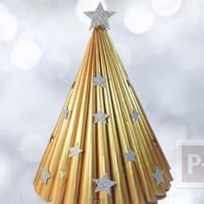 สอนทำต้นคริสต์มาส จากใบปลิวสินค้า