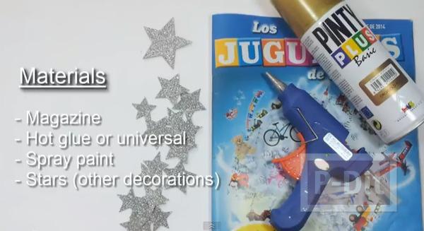 รูป 2 สอนทำต้นคริสต์มาส จากใบปลิวสินค้า
