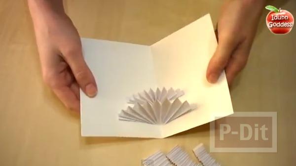 รูป 7 การ์ดคริสต์มาส 3D ทำเองสวยๆ