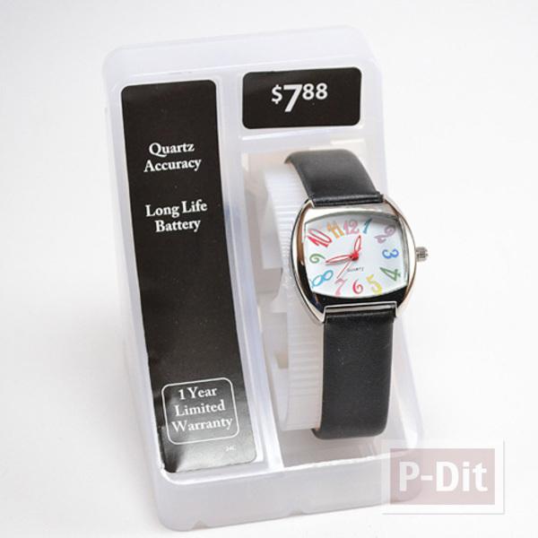 รูป 2 สายนาฬิกาสวยๆ ประดับเม็ดคริสตัล เม็ดเล็กๆ