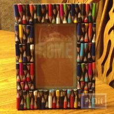 กรอบรูปสวยๆ ประดับดินสอสี