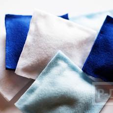 สอนทำถุงใส่ถั่ว จากผ้าสักกะหลาด