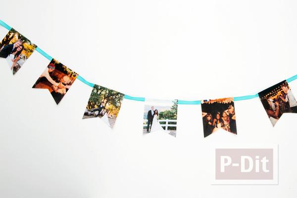 รูป 2 โมบายประดับงานแต่งงาน ริบบิ้น ประดับรูป