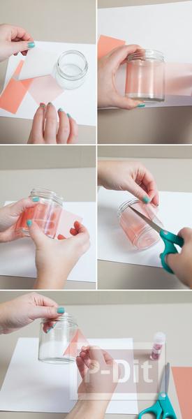 รูป 3 ที่ใส่เทียนไข ทำจากกากเพชร