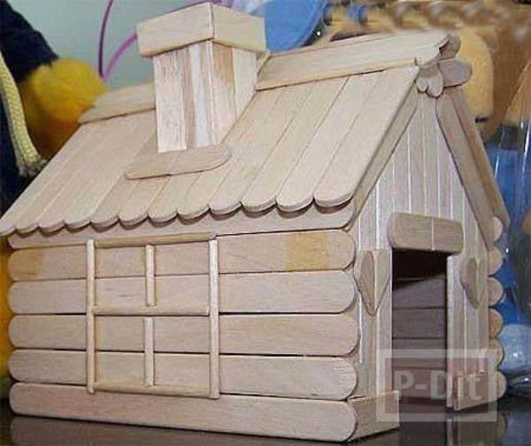 บ้านไม้ไอติม เล็กๆ น่ารักๆ