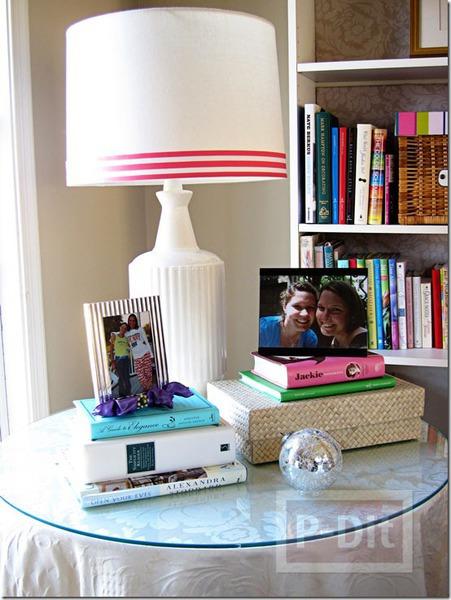 โคมไฟสวยๆ ประดับริบบิ้น สีสด