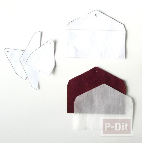รูป 3 สอนทำซองใส่มือถือสวยๆ จากผ้าสักกะหลาด