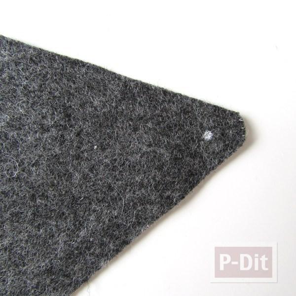 รูป 5 สอนทำซองใส่มือถือสวยๆ จากผ้าสักกะหลาด