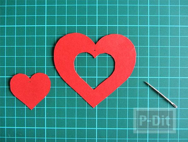 รูป 5 การ์ดวาเลนไทน์สวยๆ หัวใจแขวน