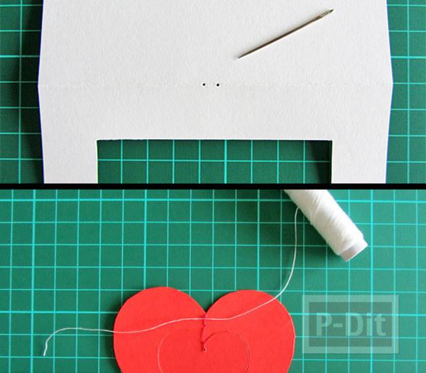 รูป 7 การ์ดวาเลนไทน์สวยๆ หัวใจแขวน
