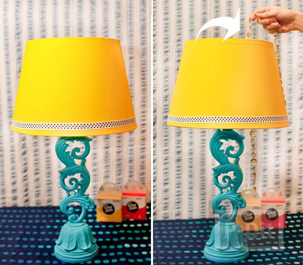 รูป 3 ไอเดียตกแต่งโคมไฟสวยๆ ประดับโต๊ะ