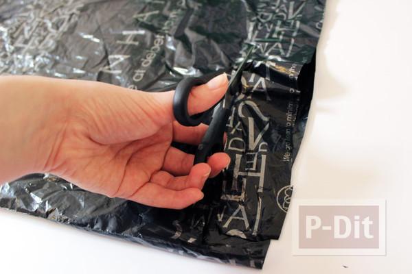 รูป 5 กำไลข้อมือ ทำจากถุงพลาสติก