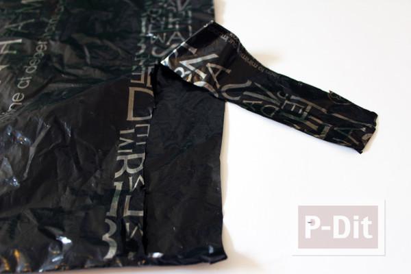 รูป 6 กำไลข้อมือ ทำจากถุงพลาสติก