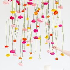 สอนตกแต่งโต๊ะอาหาร ด้วยดอกไม้สด