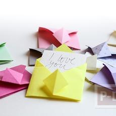 พับซองจดหมาย แบบง่ายๆ